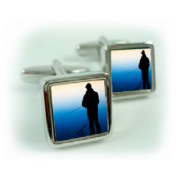 Fishing Cufflinks Fisherman